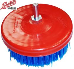 Escova em Nylon para lavar Sofá e Tapetes Macia com Eixo