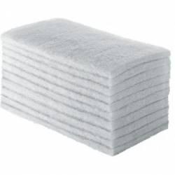 Fibra Branca para Limpeza uso leve 10x26cm 10pçs