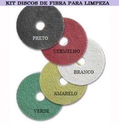 Kit de discos de polimento para limpeza Bettanin 350mm