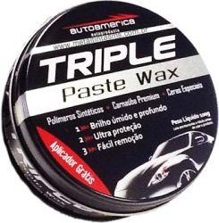 Cera Triple Paste Wax Autoamerica- Cera de Carnaúba 100gr