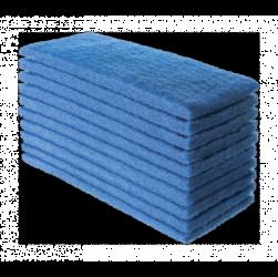 Fibra Azul de Limpeza uso leve 10x26cm 10pçs
