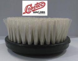 Escova em nylon 120mm Grossa p/ Politriz