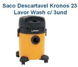 Saco descartável Kronos  23 c/ 3 unidades LavorWash