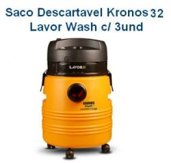 Saco descartável Kronos 32 c/ 3 unidades LavorWash