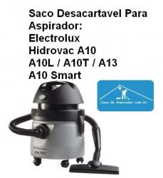 Saco descartável Electrolux A10, A10 PET, A13, GT Profi 10L. etc. kit com 3 pçs