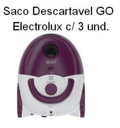 Saco Descartavel GO Electrolux c/ 3 unidades
