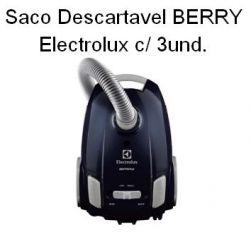 Saco Descartável Berry Electrolux c/ 3 unidades