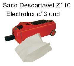 Saco Descartavel Z110 Electrolux c/ 3 unidades
