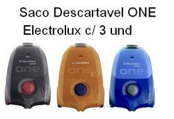 Saco Descartavel One Electrolux c/ 3 unidades