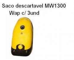 Saco Descartavel MW1300 Wap c/ 3 unidades