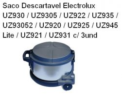 Saco Descartavel Electrolux UZ930 / UZ9305 / UZ922 ETC c/ 3und