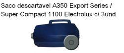 Saco descartavel A350 Export Series / Super Compact 1100  Electrolux c/ 3 unidades