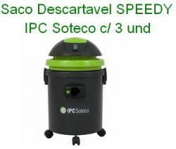 Saco descartavel SPEEDY / ECO IPC Soteco c/ 3 und