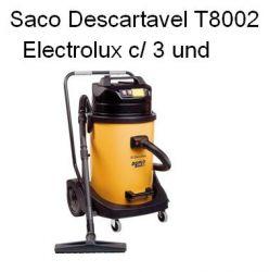 Saco Descartavel T8002 Electrolux c/ 3 und