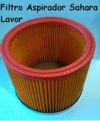 Filtro Sanfonado Aspirador Sahara Lavor c/ tampa