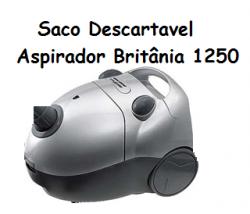 Saco Descartavel Britânia 1250 c/ 3 unidades