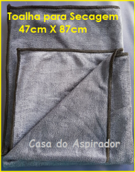Toalha para Secagem      47 cm X 87 cm