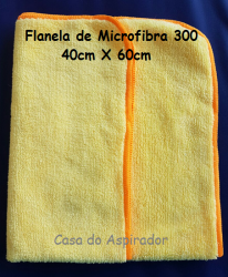 Flanela de Microfibra 300  40cm X 60cm