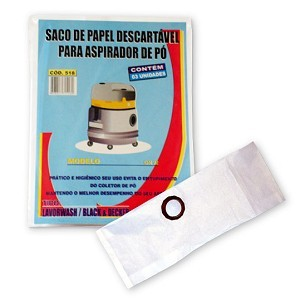 Saco descartável GN 22 - GN22, GN32 Lavor Wash c/ 3 und