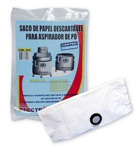 Saco descartável Hidrolux AP20 - Electrolux