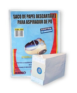 Saco descartável Booly - Arno kit com 03 unidades