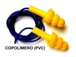 Protetor Auricular Kalipso PVC copolimero k20 Caixa com 12 unidades
