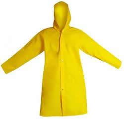 Capa de Chuva Laminada Amarela (com toca)