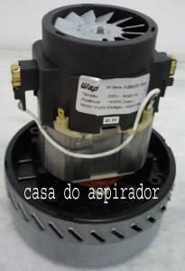 Motor Aspiração 1400W Duplo Estagios 220.volts