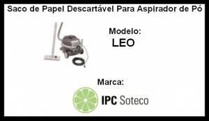Saco Descartável LEO IPC Soteco -  kit com 3unidades
