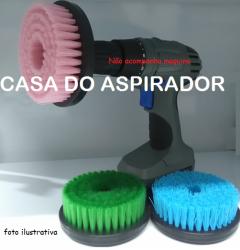 Kit 3 escovas rotativas 120mm uso em politriz/furadeira e parafusadeira Copetec