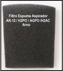 Filtro Espuma Aspirador Ar12 / H2po / Agpo Arno