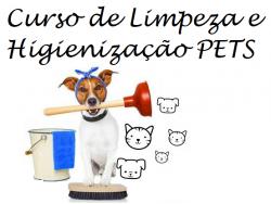 Curso de Limpeza e Higienização areas PETS