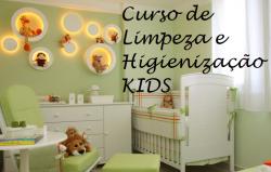 Curso de Limpeza e Higienização KIDS