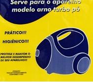 Saco Descartavel Arno Turbo pó c/ 3 unidades