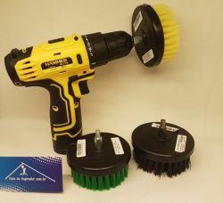 Maquina Escova Rotativa Completa Com 3 Escovas Copetec