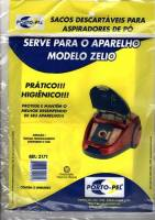 Saco Descartavel Arno Zelio kit com 3 pçs