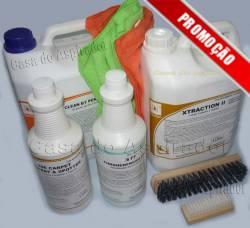Kit para Lavar Estofamentos e Bancos de Carro em tecidos