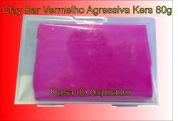 Clay Bar Kers  Agressivo Vermelho - 80g - Barra de descontaminação
