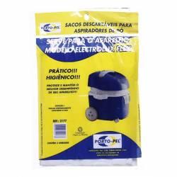 Saco descartavel flex electrolux kit com 3 peças