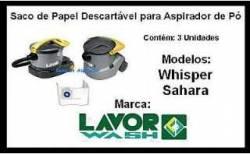 Saco Descartavel Whisper / Sahara LavorWash Kit c/03 pçs