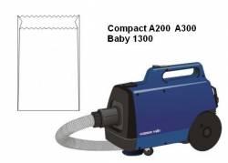 saco descartavel compact a200 a300 baby 1300 electrolux kit com 3 peças