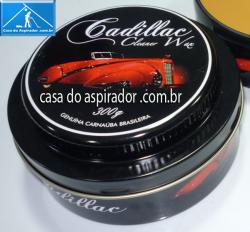 Cera de Carnauba Cleaner Wax Cadillac 300g com Espuma Aplicadora