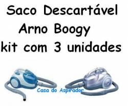 Saco descartával Arno Boogy kit com 3 unidades