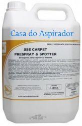 SSE Carpet Prespray e Spotter 5 Lt - Detergente tira machas para carpetes e estofado